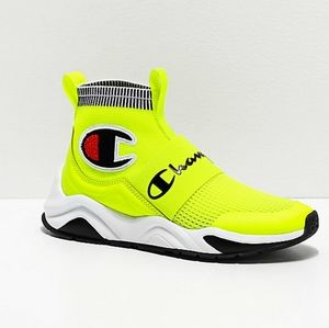🆕Champion | Rally Pro Neon Yellow Shoes